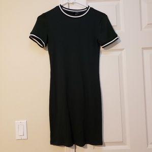 Dark Green Forever 21 Dress